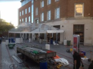 Retail and Restaurant Marquee Hire